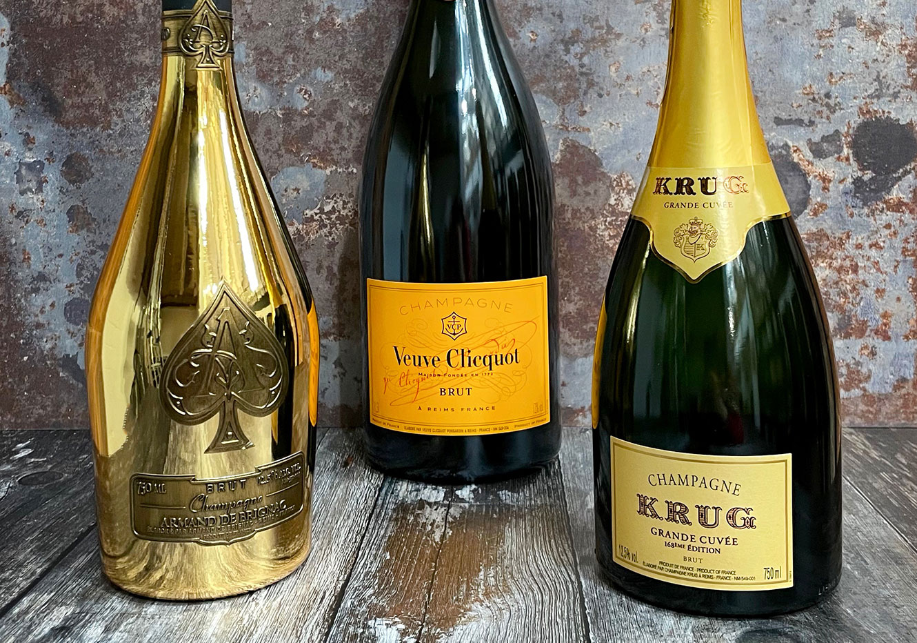 Buy Champagne and sparkling wines